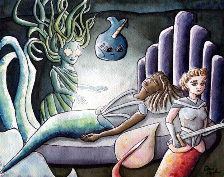Mermaid Quest scene 3