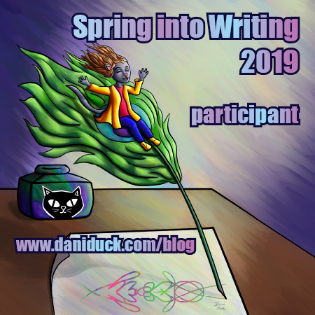 Spring into Writing 2019 participant